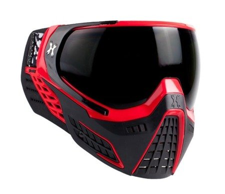HK Army KLR Goggle fire (red black)